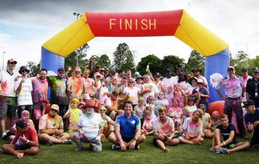 Colour and Smiles for Special Olympics Queensland