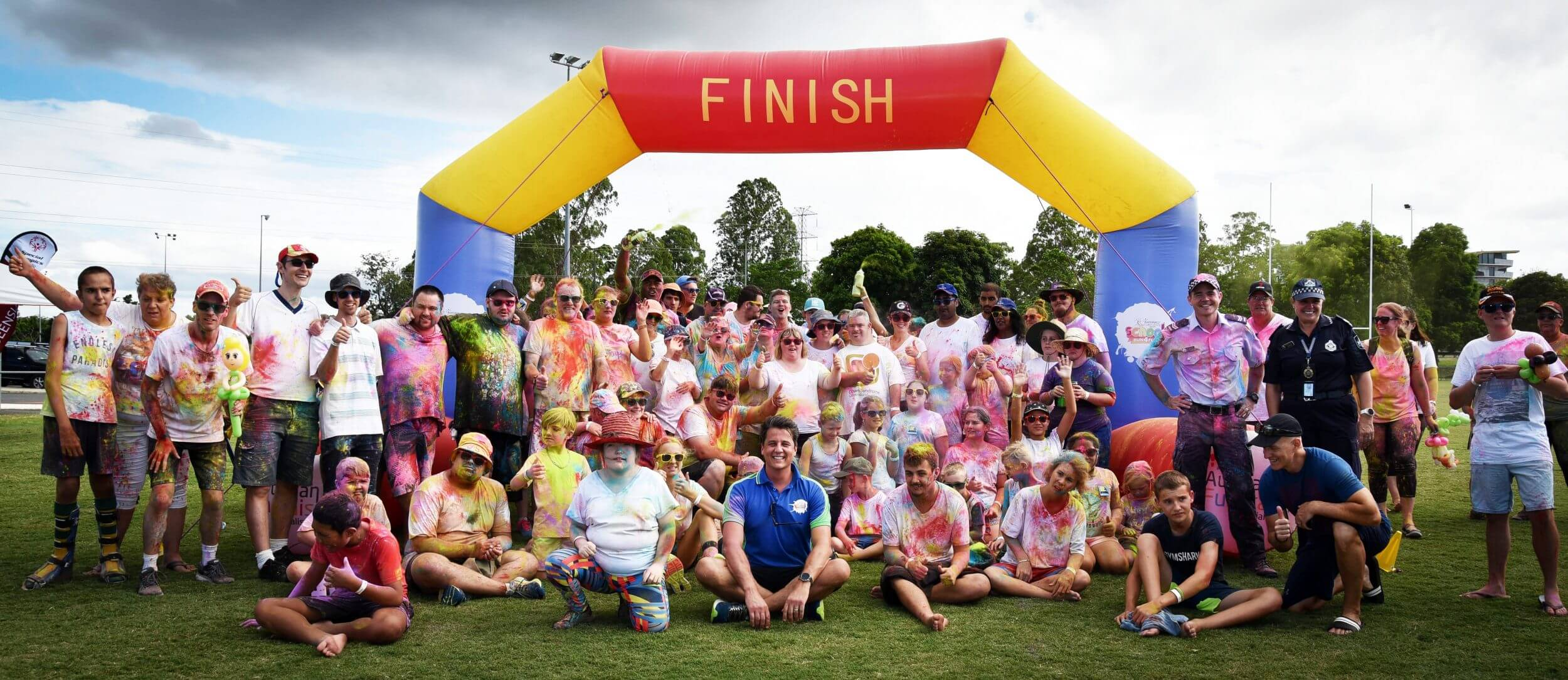Colour and Smiles for Special Olympics Queensland.