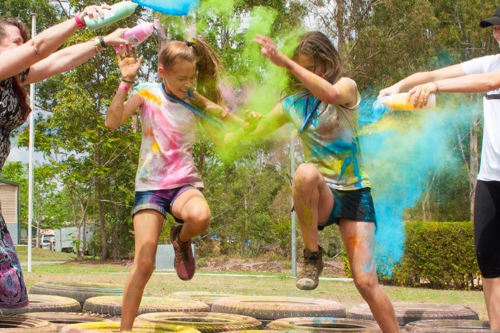 Colour Powder turns your School Fun Run from bland to grand!