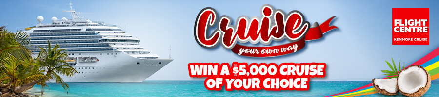 Are you the winner of $5 000 Cruise Prize?