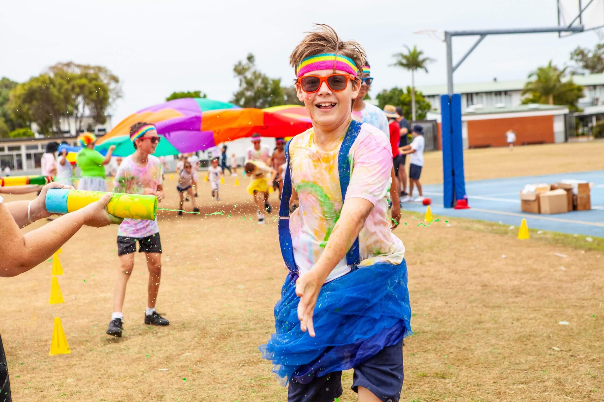 Slime Spectacular School Fun Run is the silliest fundraiser yet!