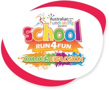 Colour Explosion School Fun Run logo
